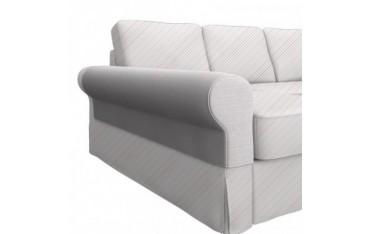 BACKABRO armleuning slaapbank met chaise longue, een set