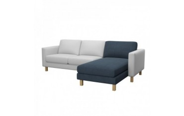 KARLSTAD Hoes chaise longue, aanbouw