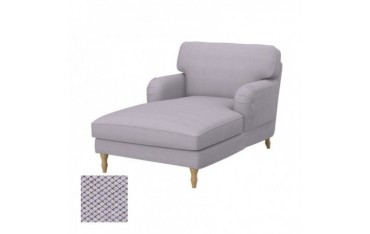 STOCKSUND Hoes chaise longue