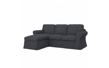 EKTORP Hoes 2-zitsbank met chaise longue