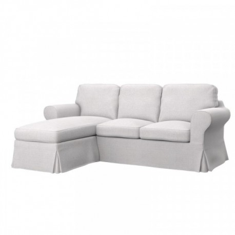 Ektorp hoes 2 zitsbank met chaise longue soferia for 2 zitsbank met chaise longue