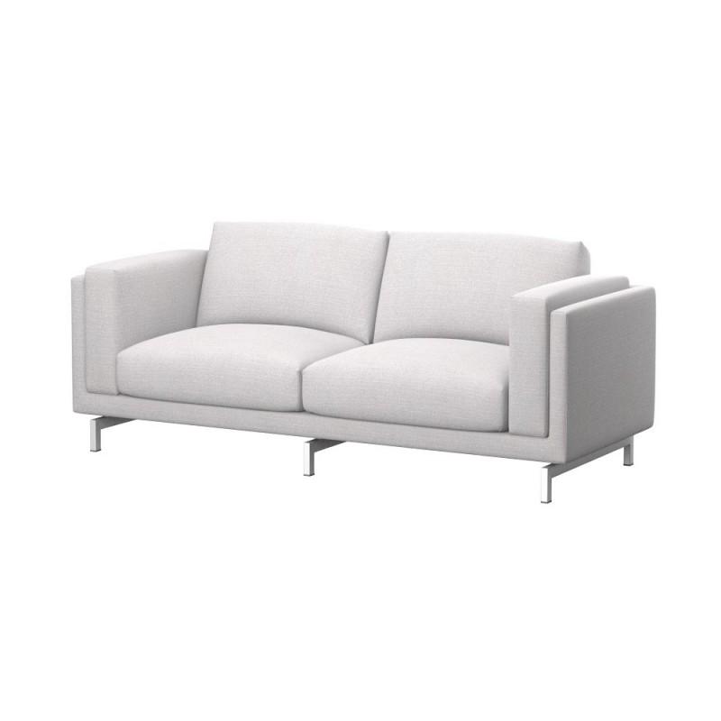 Nockeby hoes 2 zitsbank soferia hoezen voor ikea meubels for 2 zitsbank