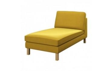 KARLSTAD Hoes vrijstaande chaise longue